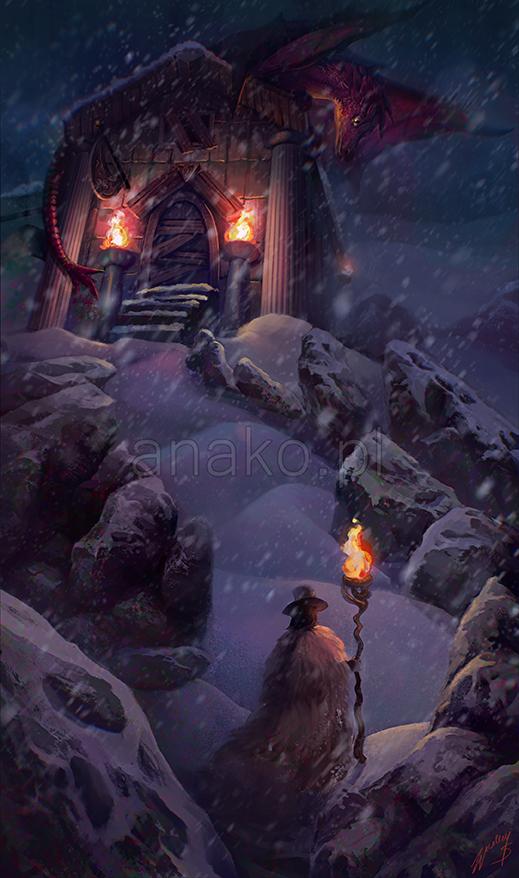 Snowstorm by Anako-ART