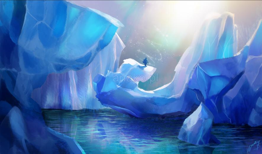 Glaciers by Anako-ART