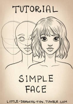Drawing simple face - TUTORIAL