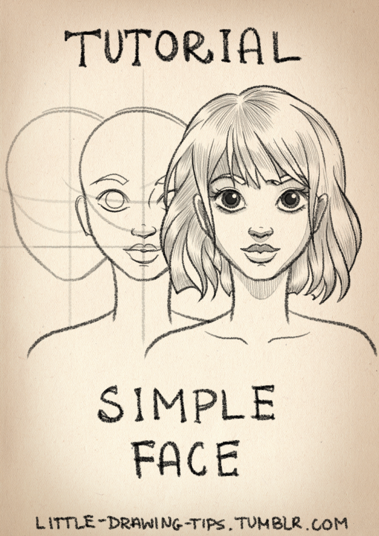 Drawing Simple Face