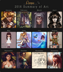 2016 summary of art