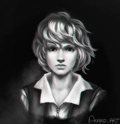 portrait of S. by Anako-ART