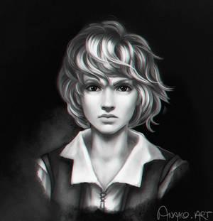 portrait of S.