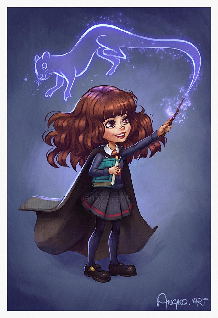Hermione by Anako-ART