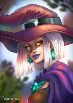 Scarab Witch - portrait