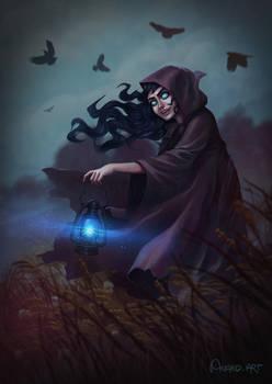 Dark fields witch