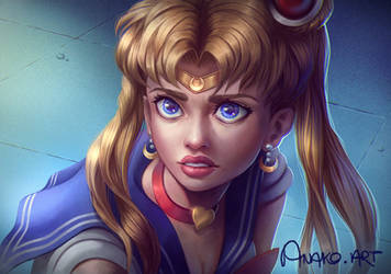 #sailormoonredraw by Anako-ART