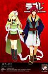 SDL: Yan Qian and Dembe V2 by Iris-Zeible
