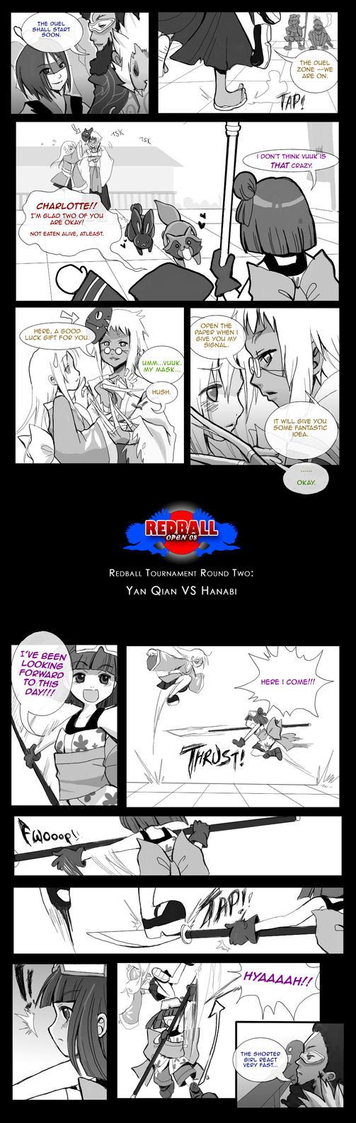 SDL :: Yan Qian VS Hanabi 4 by Iris-Zeible