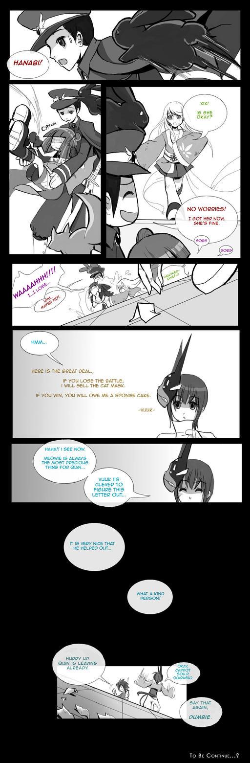 SDL :: Yan Qian VS Hanabi 9 by Iris-Zeible