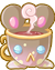 Charm : Dormouse's Cup by Iris-Zeible