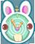 Charm: Rabbit's Pocketwatch by Iris-Zeible