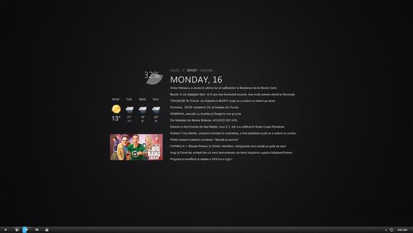 April Desktop by Lusitan
