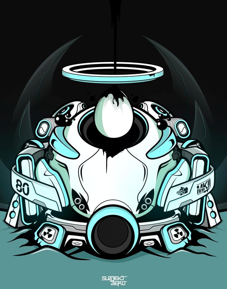 Sacred Helmet Mark 2 by SubjektZero