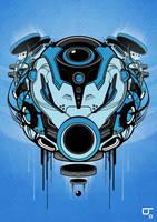 Sacred Helmet MK IV by SubjektZero