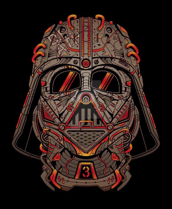 D.E.A.T.H Vader by SubjektZero