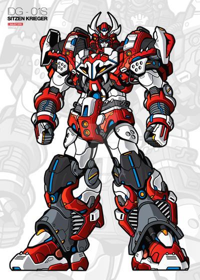 Svper Robot : S. Krieger! by SubjektZero