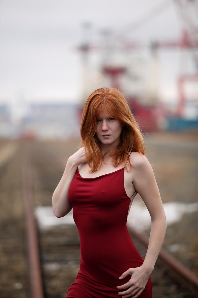Red Scarlette II by Trihesta