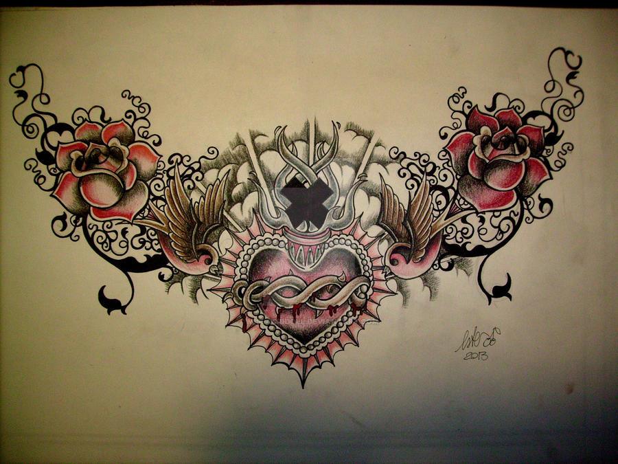 sacred heart by MissAcidDoll