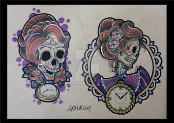 Victorian Skull #2