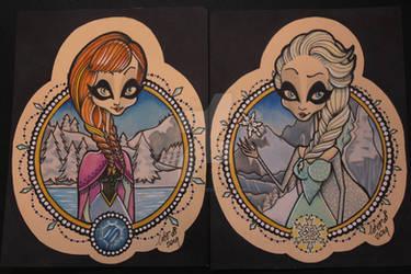 Acid Doll series: Frozen