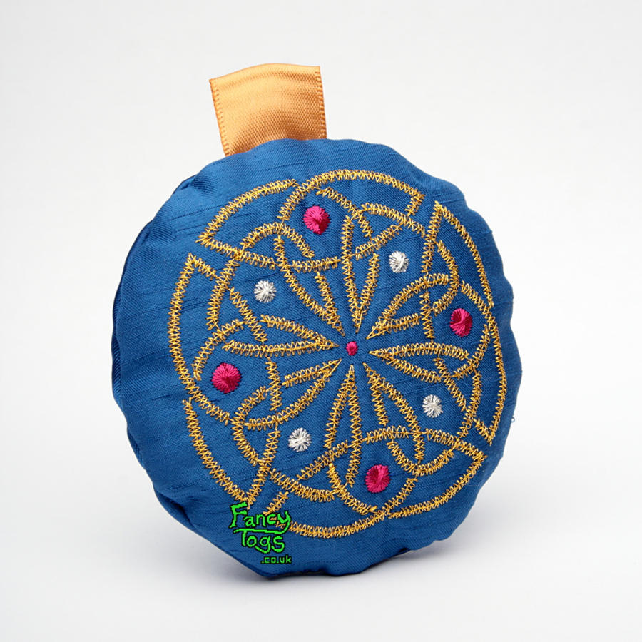 Embroidery Design Christmas Scrubbies