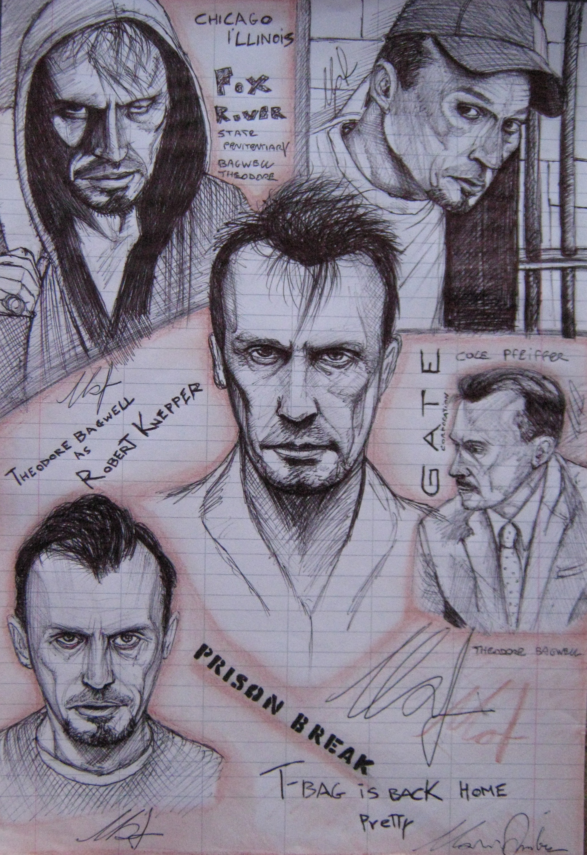 Theodore Bagwell-Tbag, Prison Break Tribute by ANDREAMARINO93