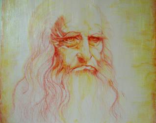 Leonardo Da Vinci Tribute by ANDREAMARINO93