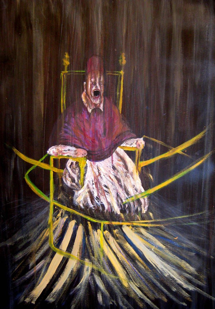 Tribute to Francis Bacon by ANDREAMARINO93