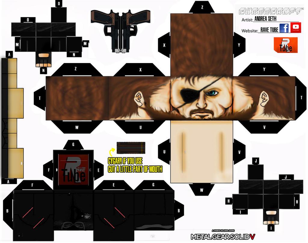 1-big Boss Cubeecraft by ANDREAMARINO93