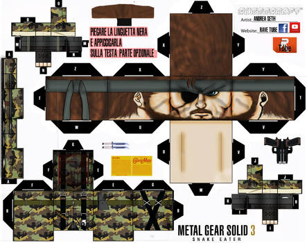 1-big Boss Mgs 3+optional-cubeecraft