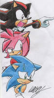 Hedgehog Triple Threat by Static101
