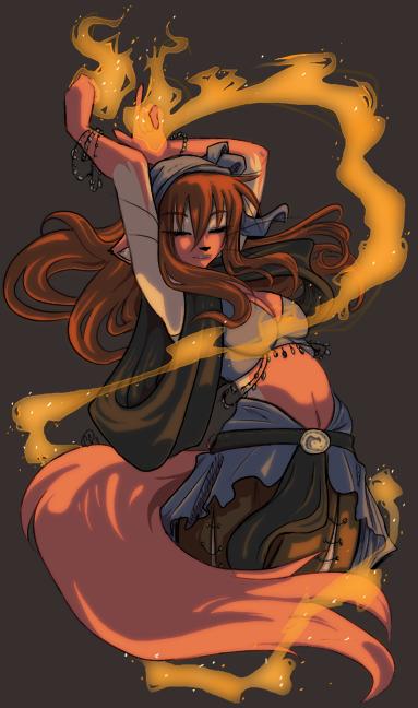 I dream of fire... by firekitty