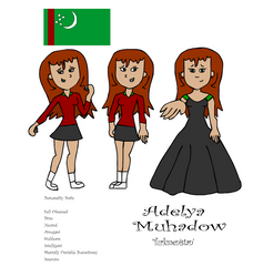 Adelya Muhadow by JacobToonz