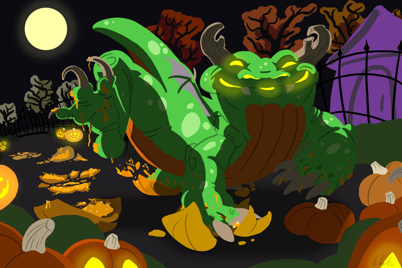 Smashing Pumpkins by StalkedByDragons