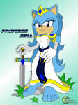GIFT Princess Sira the Hedgehog by TheMoonlitWarrior