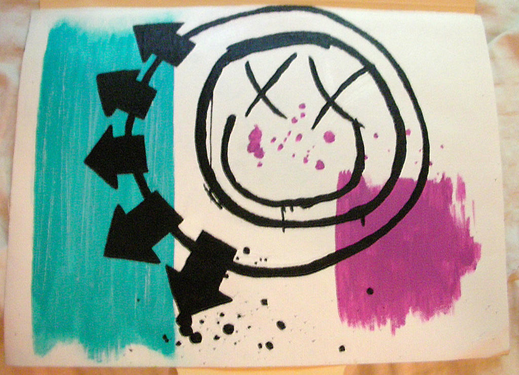Blink-182 Painting