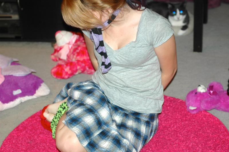 Babysitter tied up by kids by Blink-719 on DeviantArt