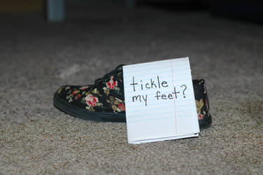 Tickle my Feet? request by Blink-719