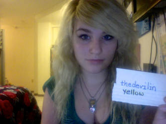 Fansign for Thedevilinyellow