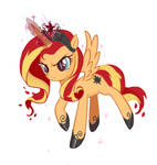 Evil Princess  Sunset Shimmer -