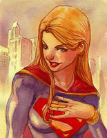 supergirl water by amilcar-pinna