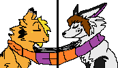 Hichu and Paw icons by LegendOfPaw