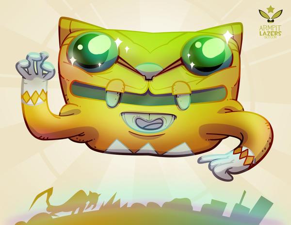 Yellow Ranger Sprite! by ArmpitLazers