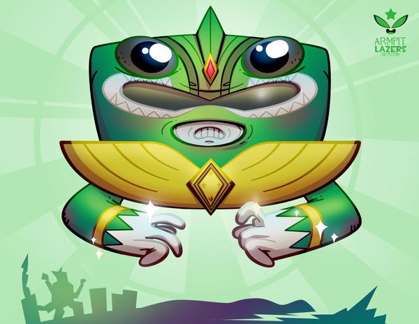 Green Ranger Sprite! by ArmpitLazers