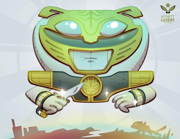 White Ranger Sprite! by ArmpitLazers