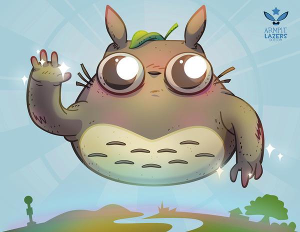 Totoro Sprite! by ArmpitLazers