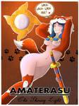 SMITE Amaterasu Foxy skin