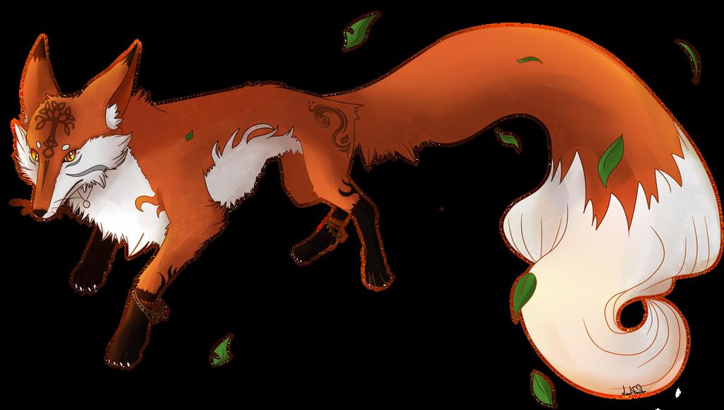 Laguz Fox (Leah) by LeahFoxDen