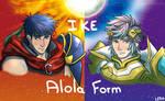 Ike Alola by LeahFoxDen